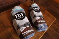FITS フィッツ Expedition Boot 厚手 Mサイズ 2足組